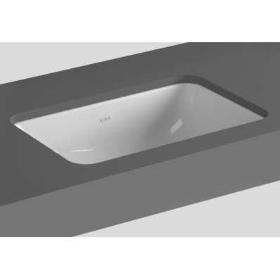 S20 Undercounter Basin, 48 cm, without Tap Hole, with Side Holes