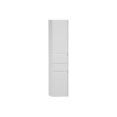 S50 + Tall Unit (Drawer) (Left), White High Gloss