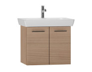 54783 - S20 Washbasin Unit 65cm, Golden Cherry