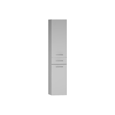 S20 Tall Unit Drawer (Left), White High Gloss