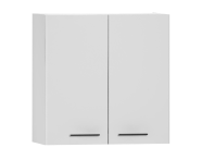 54803 - S20 Upper Cabinet,  White High Gloss