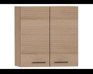 54804 - S20 Upper Cabinet, Golden Cherry