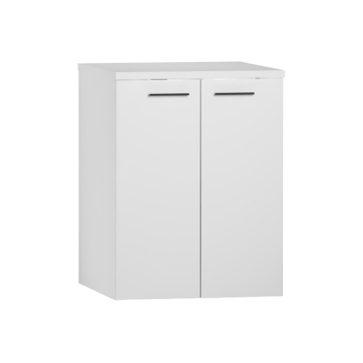 S20 Washing Machine Cabinet, White High Gloss