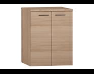 54808 - S20 Washing Machine Cabinet U-Hollow Golden Cherry