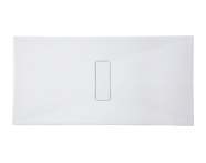 54820028000 - Slim 160x90 cm Rectangular Zero Surface, Acrylic Waste Cover