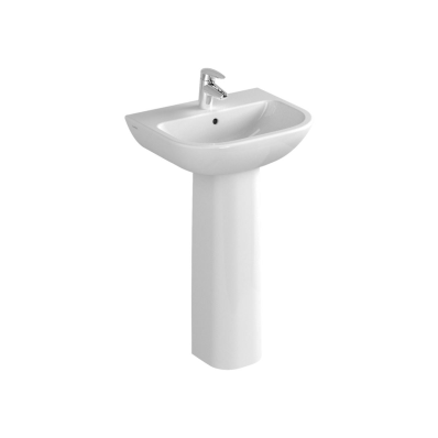 S20 Basin, 50 cm, with Middle Tap Hole, with Side Holes