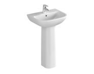 5501L003-0022 - S20 Cloakroom washbasin, 50cm