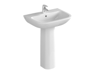 5503L003-0001 - S20 Basin, 60cm with Middle Tap Hole, with Side Holes