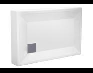 55040001000 - T70 100x70 cm Rectangular Monobloc