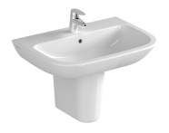 5504L003-0001 - S20 Basin, 65cm with Middle Tap Hole, with Side Holes