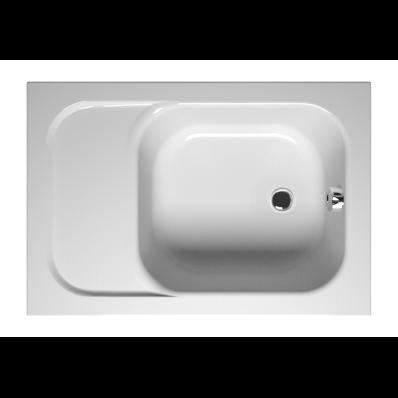 Balance 110x75 cm Rectangular with Seat Bathtub