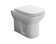5520L003-0075 - S20 Back-To-Wall Single WC Pan