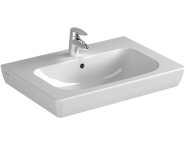 5522B003H0001 - S20 Vanity Basin, 65 cm, with Middle Tap Hole, with Side Holes