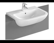 5524B095-0001 - S20 Semi-Recessed Basin, 55 cm