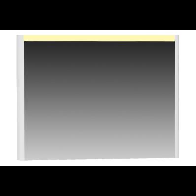 T4 Illuminated Mirror, 100 cm, White High Gloss