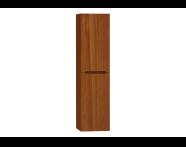 55476 - Folda Tall Unit (Walnut) Left