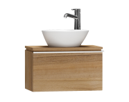 55653 - System Fit Washbasin Unit 60 cm