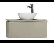 55662 - System Fit Washbasin Unit 80 cm