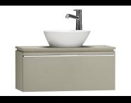 55664 - System Fit Washbasin Unit 80 cm
