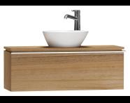 55669 - System Fit Washbasin Unit 100 cm