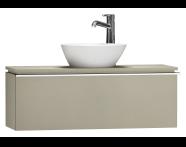55670 - System Fit Washbasin Unit 100 cm