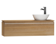 55687 - System Fit Washbasin Unit 120 cm (Right)