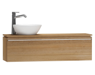 55695 - System Fit Washbasin Unit 120 cm (Left)