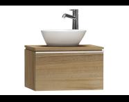 55709 - System Fit Washbasin Unit 60 cm