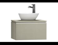 55710 - System Fit Washbasin Unit 60 cm