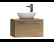 55711 - System Fit Washbasin Unit 60 cm