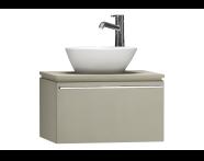 55712 - System Fit Washbasin Unit 60 cm