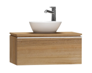 55717 - System Fit Washbasin Unit 80 cm