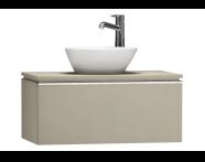 55718 - System Fit Washbasin Unit 80 cm