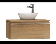 55719 - System Fit Washbasin Unit 80 cm