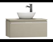 55720 - System Fit Washbasin Unit 80 cm