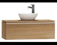 55725 - System Fit Washbasin Unit 100 cm
