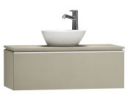 55726 - System Fit Washbasin Unit 100 cm