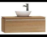 55727 - System Fit Washbasin Unit 100 cm