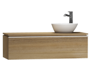 55741 - System Fit Washbasin Unit 120 cm (Right)