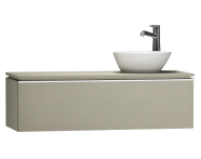 55742 - System Fit Washbasin Unit 120 cm (Right)
