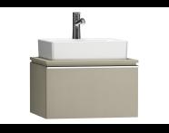 55774 - System Fit Washbasin Unit 60 cm