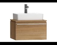 55775 - System Fit Washbasin Unit 60 cm