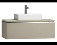 55790 - System Fit Washbasin Unit 100 cm