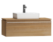 55791 - System Fit Washbasin Unit 100 cm