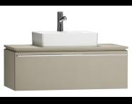 55792 - System Fit Washbasin Unit 100 cm