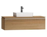 55797 - System Fit Washbasin Unit 120 cm (Middle)