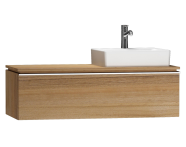 55805 - System Fit Washbasin Unit 120 cm (Right)