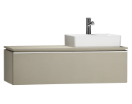 55806 - System Fit Washbasin Unit 120 cm (Right)