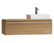 55807 - System Fit Washbasin Unit 120 cm (Right)