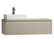 55816 - System Fit Washbasin Unit 120 cm (Left)